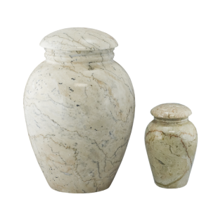 Grecian Travertine - Creme/Tan/Rose Vase (Adult)