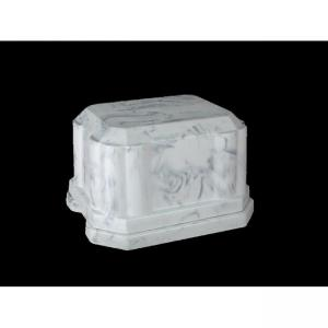 Vanguard - White Marble Urn Vault for Cremation