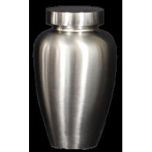 Spartan Brushed Nickel Pet Urn