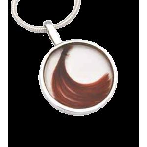 Large Round Pendant