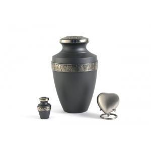 Grecian Rustic Pewter Adult Urn