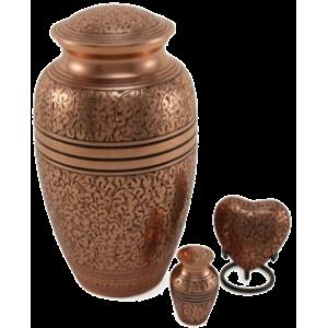 Copper Oak Adult Urn