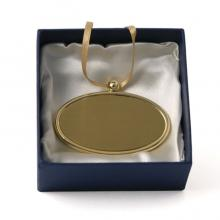 Golden Oval Urn Pendant