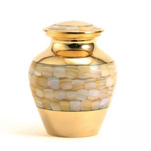 Mother of Pearl Elite Extra Small Pet Urn