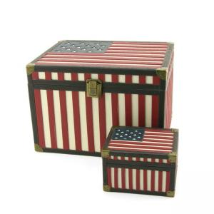 Star Spangled Banner Memory Chest Large