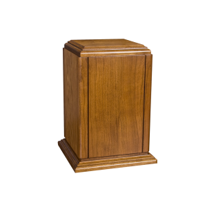 Sherwood I - Vertical Cherry with Accent Groves & Base (Adult)