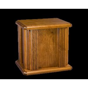 Jefferson Plain - Oak Urn w/Grooved Columns (Adult)