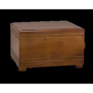 National – Horizontal Wood Hardwood w/Grooves and Pedestal Feet (Adult)