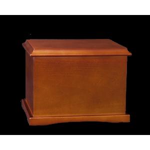 Coronet – Cherry Hardwood Urn (Adult)
