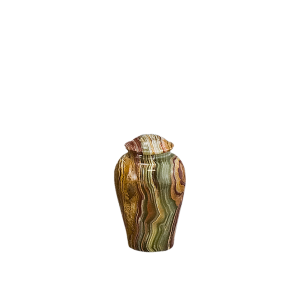 Onyx Vase Token - Tan/Rust/Green/White Onyx Vase (Token)