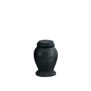 Black Marble Token - Black Marble Vase with Base (Token)