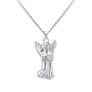 Guardian Angel - Sterling Silver with Chain