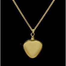 Heart - Brass with Chain