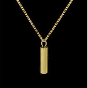Cylinder - Brass with Chain