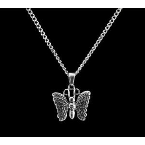 Butterfly - Sterling Silver with Chain