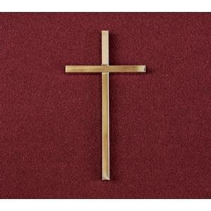 Slimline Cross - Bronze, Urn Applique