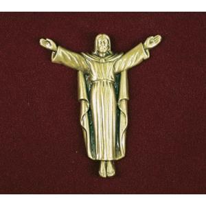 Risen Christ, Urn Applique