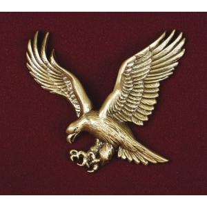 Bright Gold American Eagle, Urn Applique