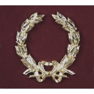 Bold Wreath with Bow, Urn Applique