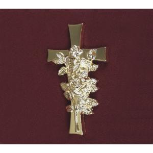 Cross and  Rose, Urn Applique