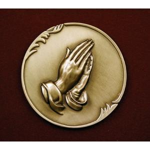 Praying Hands, Urn Applique