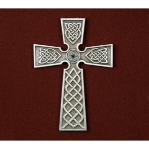 Irish Cross with Stone