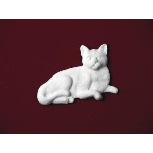 Short-Haired Cat – Marble Pet Urn Applique