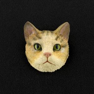 Brown Tabby (shorthair) 3D Pet Head Cremation Urn Applique
